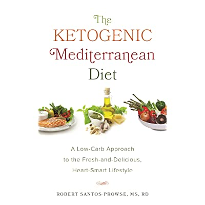 Book giveaway for The Ketogenic Mediterranean Diet: A Low-Carb Approach to the Fresh-and ...
