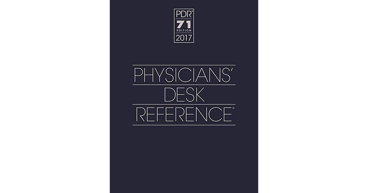 Marvelous 2017 Physicians Desk Reference 71St Edition Physicians Download Free Architecture Designs Embacsunscenecom