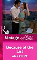 Because of the List (Mills & Boon Vintage Superromance) (Make Me a Match, Book 4)
