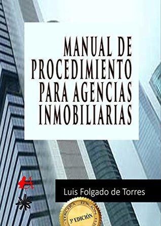 Manual de procedimiento para agencias inmobiliarias