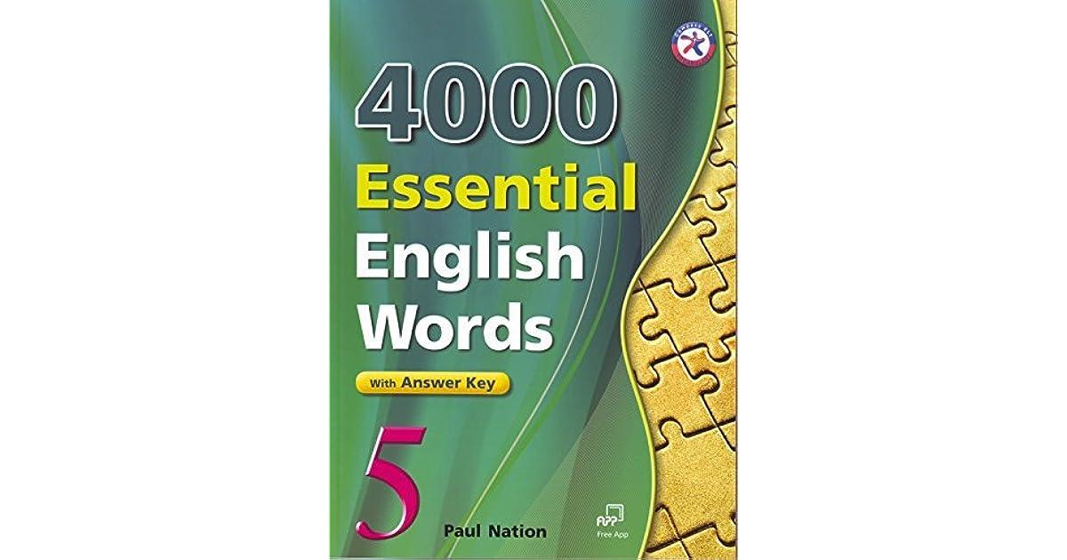4000 ESSENTIAL ENGLISH WORDS СКАЧАТЬ БЕСПЛАТНО
