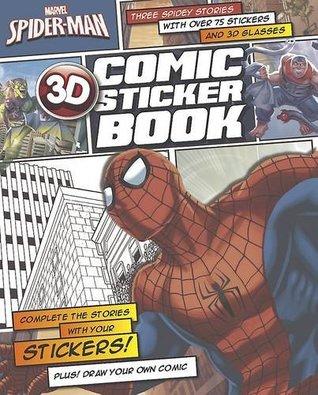 Marvel Spiderman 3D Comic Sticker Book (Marvel 3d Comic Sticker Book)