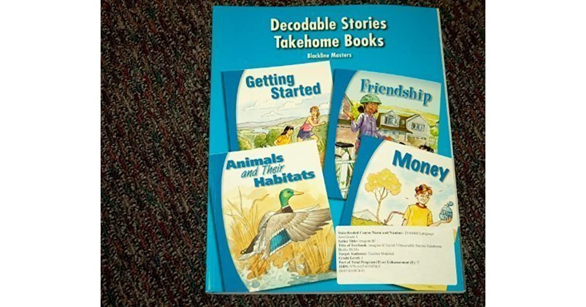 SRA Imagine It Grade Level 3 Decodable Stories Takehome
