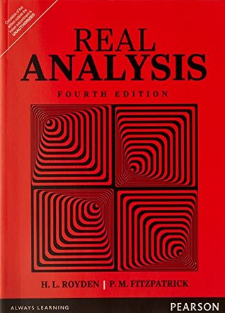 Real Analysis by H L  Royden