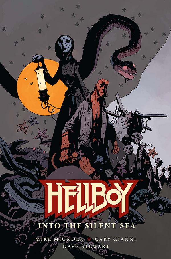 Hellboy: Into the Silent Sea by Mike Mignola