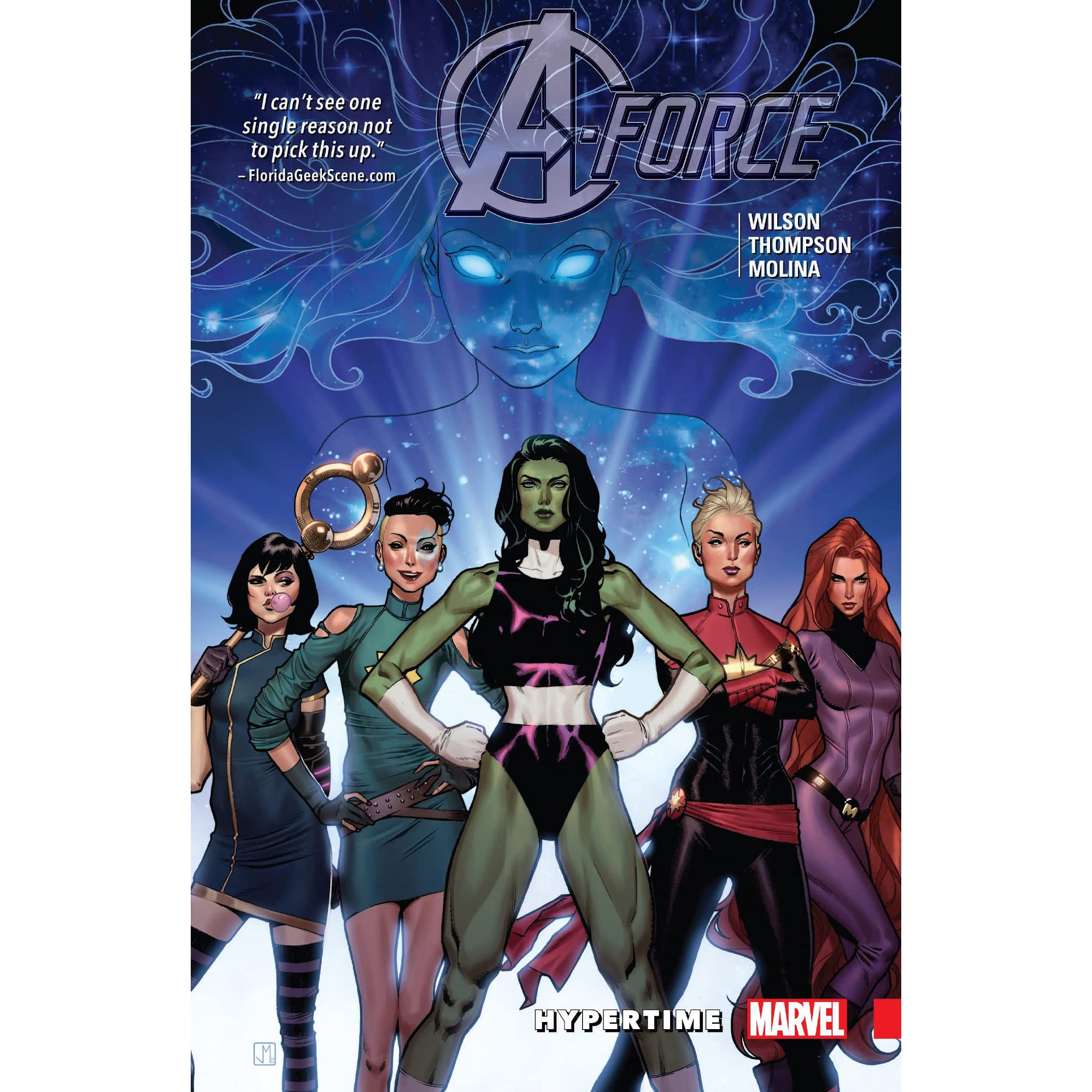 Aforce, Volume 1: Hypertime By G Willow Wilson €� Reviews, Discussion,  Bookclubs, Lists
