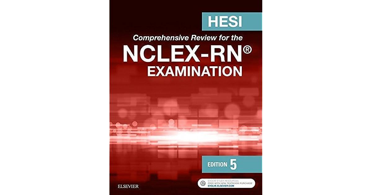 hesi comprehensive review for the nclex pn examination 5e