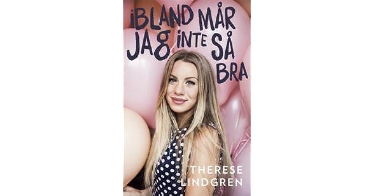 Ibland Mår Jag Inte Så Bra By Therese Lindgren