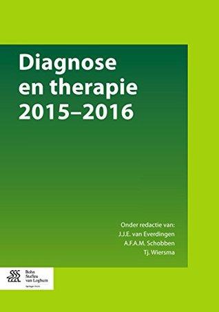 Diagnose en therapie 2015-2016 J.J.E. van Everdingen, Tjerk Wiersma, A.F.A.M. Schobben
