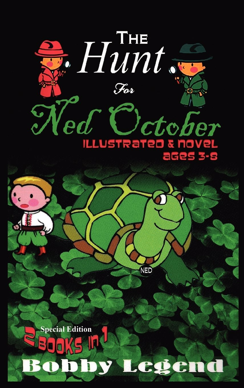 Illustrated Book Cover Review : The hunt for ned october illustrated novel by bobby