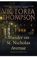 Murder on St. Nicholas Avenue (Gaslight Mystery, #18)