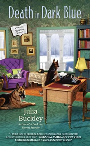 Death in Dark Blue (A Writer's Apprentice Mystery, #2)