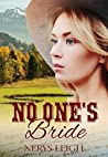 No One's Bride (Escape to the West #1)