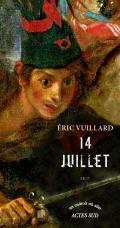 14 juillet by Éric Vuillard