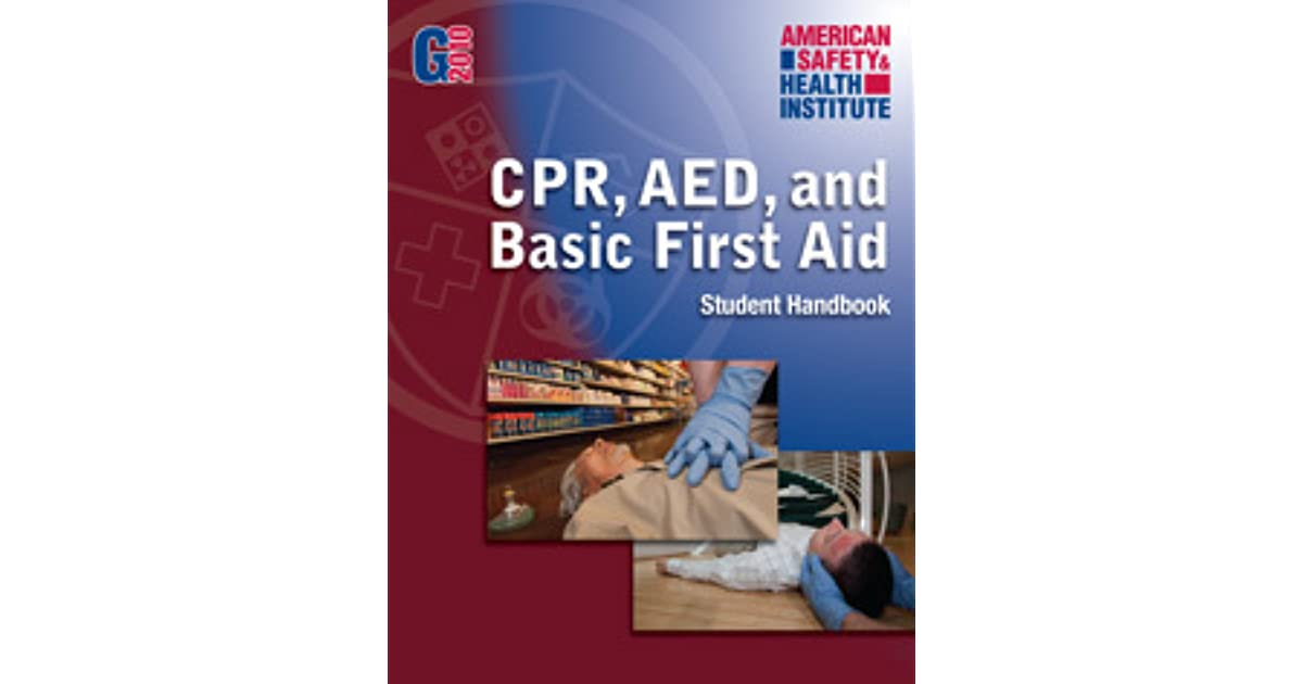 Cpr Aed And Basic First Aid American Safety Health Institute