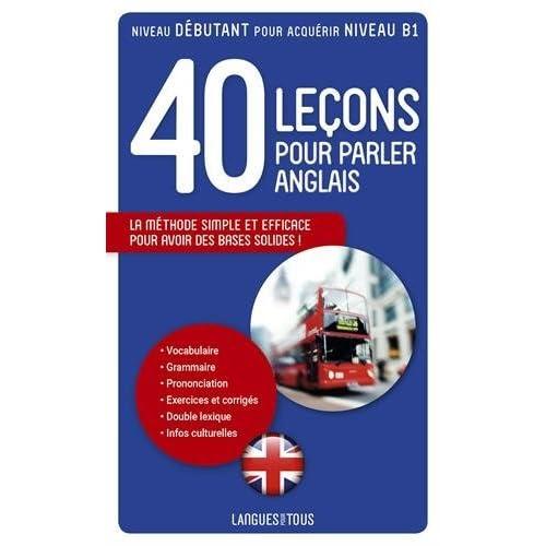 40 Lecons Pour Parler Anglais By Michel Marcheteau
