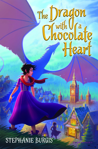The Dragon with a Chocolate Heart (Tales from the Chocolate Heart, #1)
