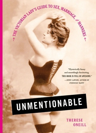 Unmentionable Cover via Goodreads