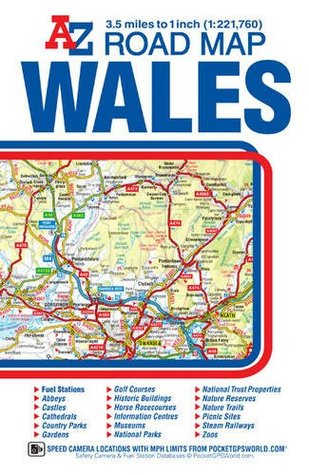 Wales Road Map by Geographers' A-Z Map Co. Ltd. on submarine map, meteorologist map, artist map, the national map, explorer map, ptolemy map,