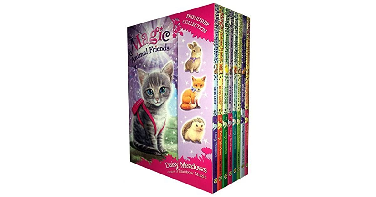 Magic Animal Friends Series 1 and 2 - 8 Books Box Set