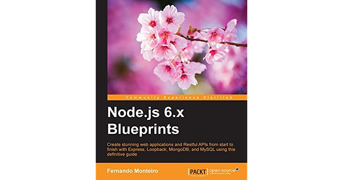Nodejs 6x blueprints by fernando monteiro malvernweather