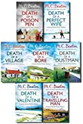 Hamish Macbeth Murder Mystery Series Collection By M.C. Beaton 7 Books Set