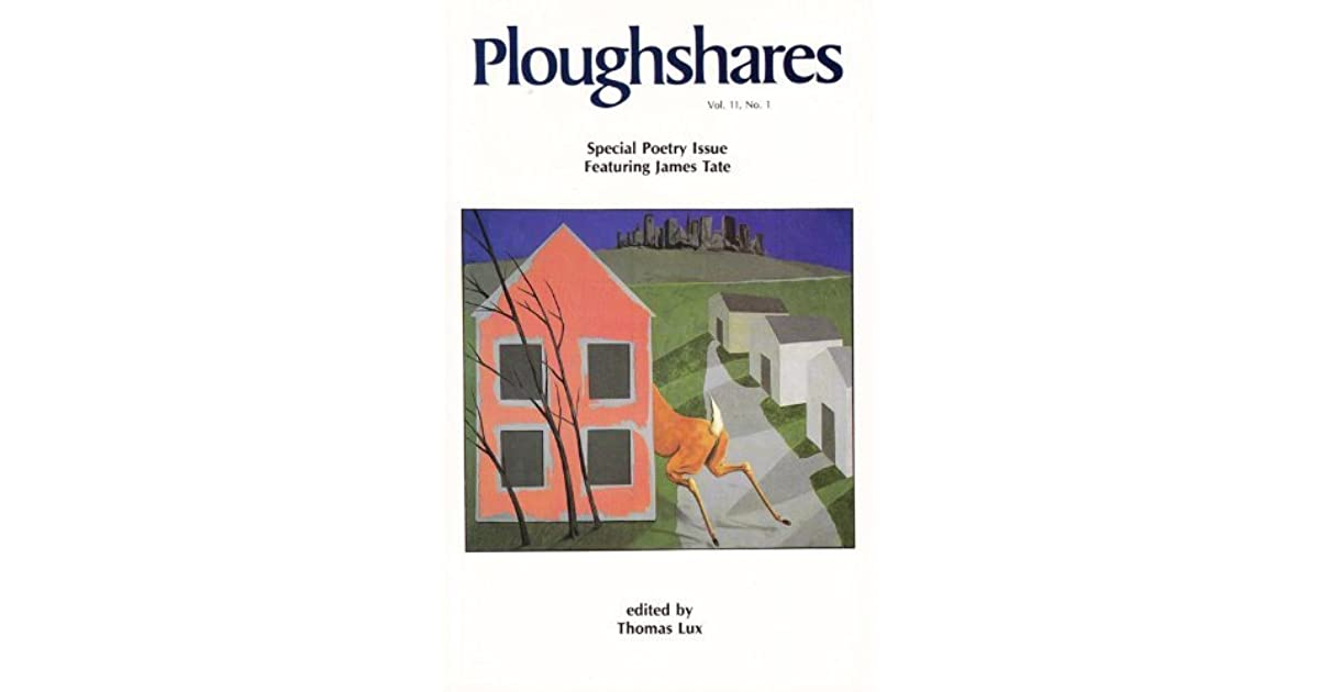 Download PDF Ploughshares Spring 1985 Guest-Edited by Thomas Lux