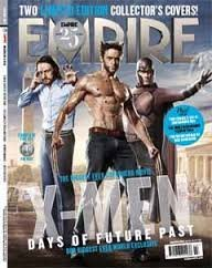 Empire March 2014 Xmen Days of Future Past 2 Limited Edition Covers