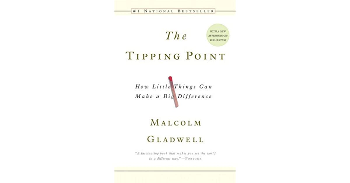 The Tipping Point: How Little Things Can Make a Big Difference by Malcolm Gladw...
