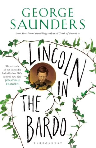 Cover of Lincoln in the Bardo by George Saunders