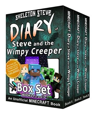 Minecraft Diary of Steve and the Wimpy Creeper BOX SET - Collection 1: Unofficial Minecraft Books for Kids, Teens, & Nerds - Adventure Fan Fiction Diary ... Mobs Series Diaries - Bundle Box Sets 2)