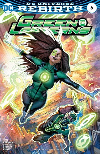 Green Lanterns #6  by  Sam Humphries
