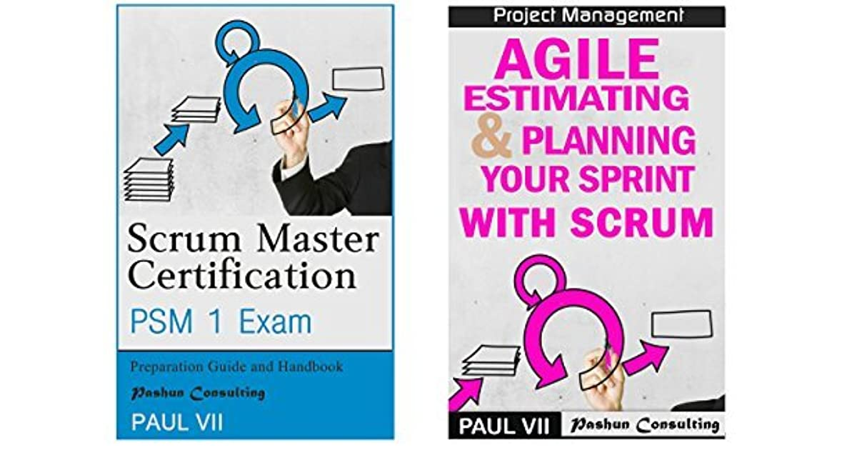 Scrum Master Box Set Scrum Master Certification Psm 1 Exam