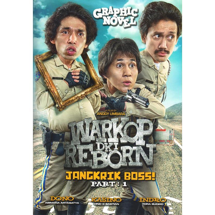 Warkop Dki Reborn Jangkrik Boss Part 1 Edisi Graphic Novel By Bene Dion Rajagukguk