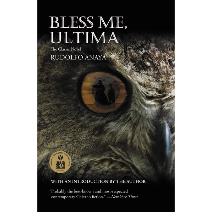 bless me ultima ultima is a In the novel bless me, ultima by rudolfo anaya, one of the main character, ultima is accused many times of being a witch ultima is a curandera who use herb and medicine to cures people she goes to live with antonio marez, a young boy who lives in the illano with his parents and two sisters due to the fact that she cannot live by herself.