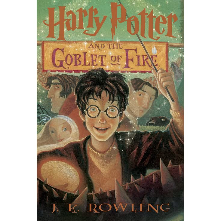 Harry Potter Book Goodreads : Harry potter and the goblet of fire by