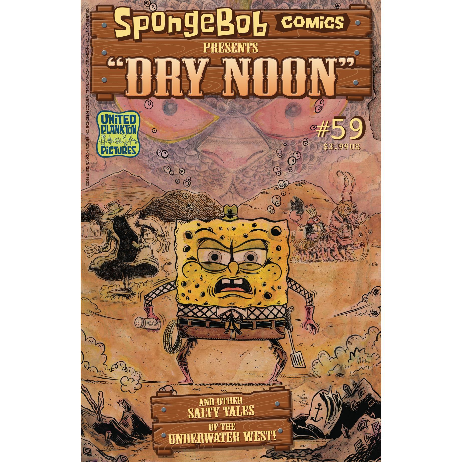 spongebob comics 59 dry noon by chuck dixon