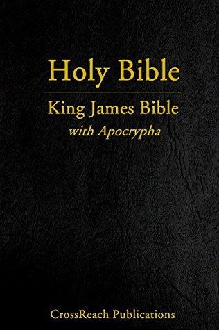 King James Bible with Apocrypha by Anonymous