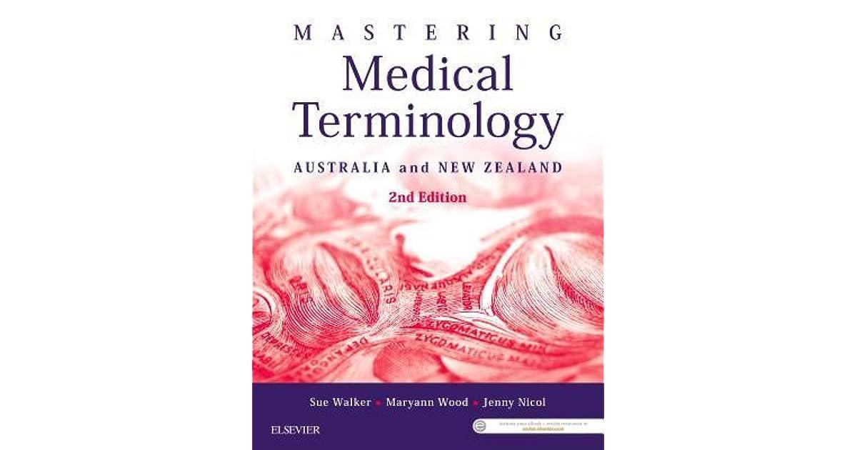 Mastering Medical Terminology Epub Australia And New Zealand By