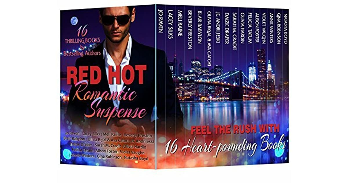 Red Hot Romantic Suspense by Jo Raven