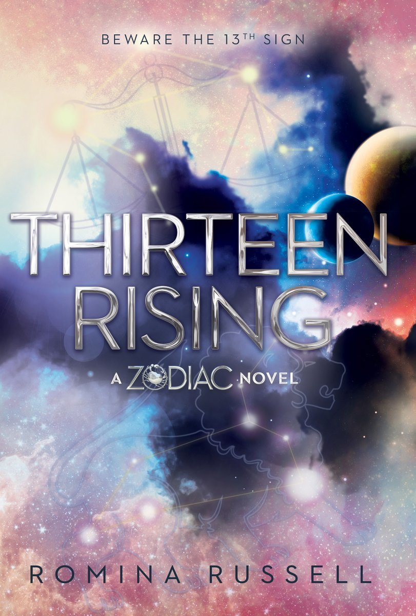 Book Cover Fantasy Zodiac : Thirteen rising zodiac by romina russell — reviews