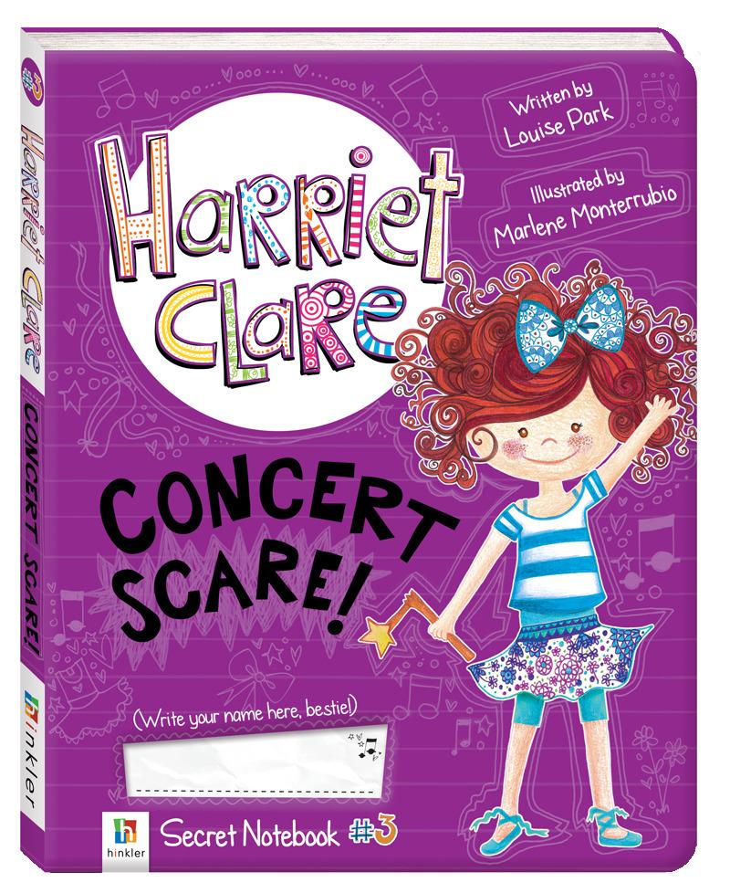 Harriet Clare Concert Scare (Harriet Clare, #3) Louise Park