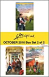 Harlequin Love Inspired October 2016 - Box Set 2 of 2: Lone Star Dad\Hometown Holiday Reunion\A Family for the Farmer