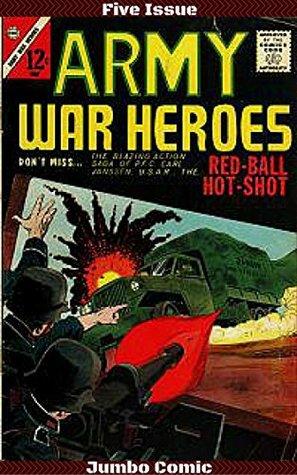 Army War Heroes Five Issue Jumbo Comic