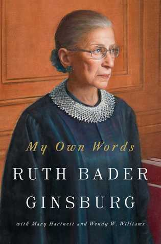 Cover image of My Own Words by Ruth Bader Ginsburg