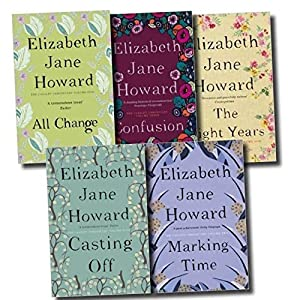 Elizabeth Jane Howard Cazalet Chronicles 5 Books Set, (The Light Years, Marking Time, Confusion, Casting Off and All Change) (Cazalet Chronicles, #1-5)