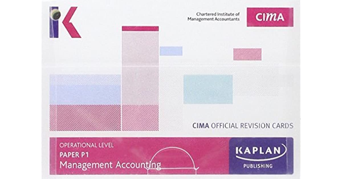 CIMA P1 Management Accounting - Revision Cards by Kaplan Publishing