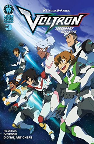 Voltron: Legendary Defender #3 (of 5)