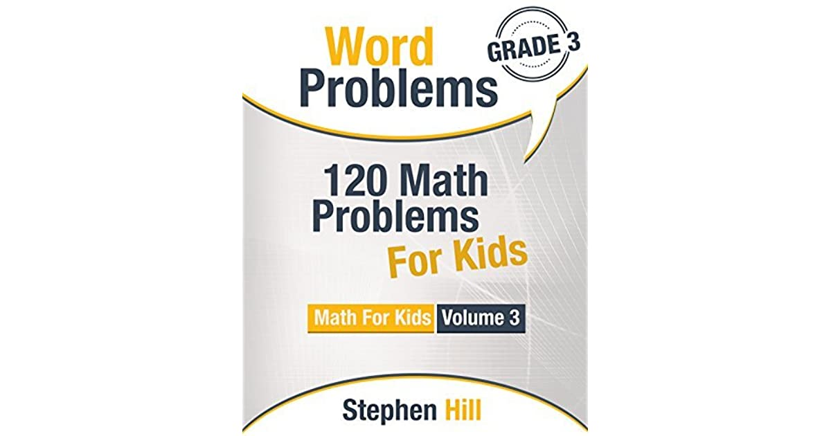 Word Problems: 120 Math Problems For Kids: Math Workbook Grade 3 by ...