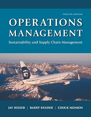 Operations Management- 12th edition